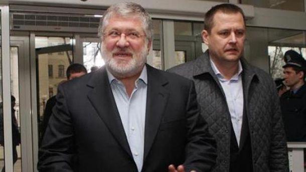 Игорь Коломойский и Борис Филатов