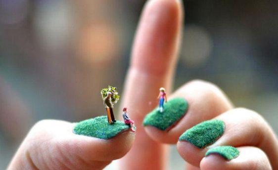 Волохаті нігті