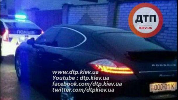 Патрульные задержали Porsche Panamera