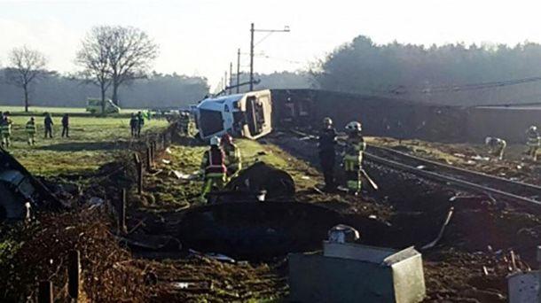Авария близ города Дальфсен