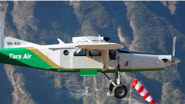 Самолет Tara Air