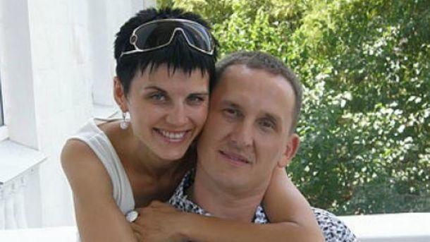 Антон Шевцов з дружиною