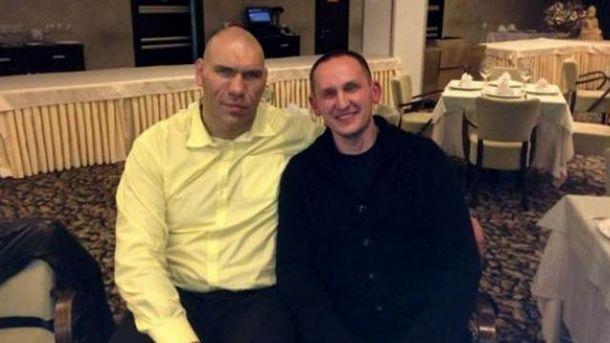Антон Шевцов с депутатом Госдумы Николаем Валуевым