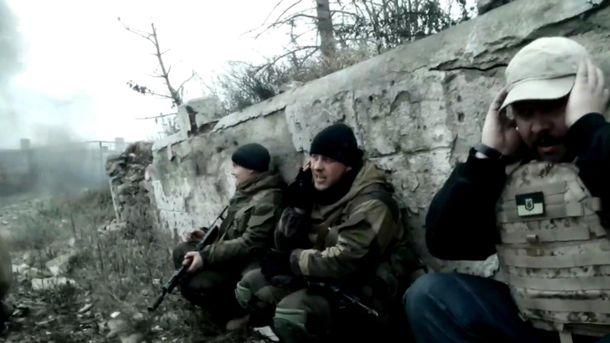 Українські бійці у зоні АТО