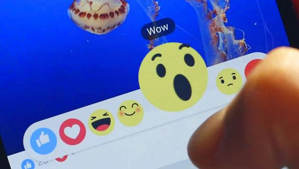 Новые кнопки в Facebook