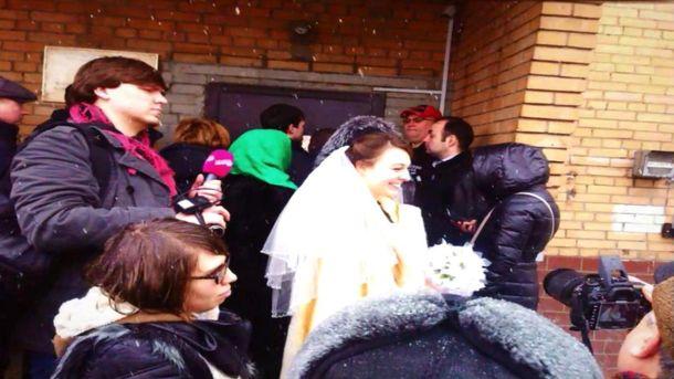 Российский политзаключенный с проукраинскими взглядами женился в СИЗО