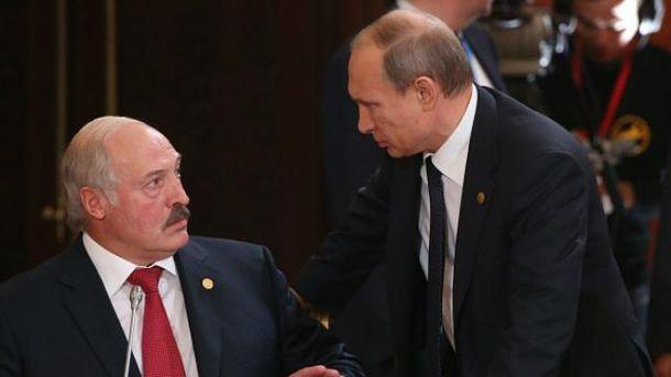Олександр Лукашенко, Володимир Путін