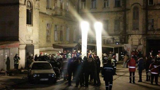 Завали будинку у Києві