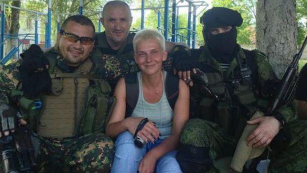 Мария Столярова в компании террористов