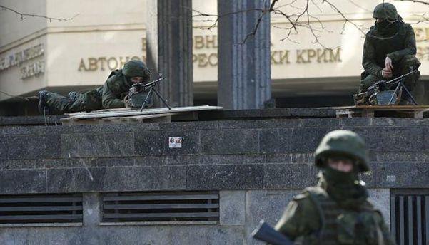 Начало оккупации Крыма