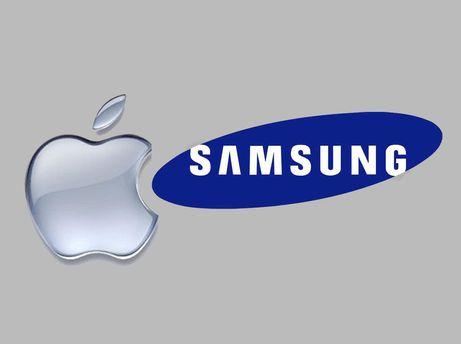 Apple і Samsung