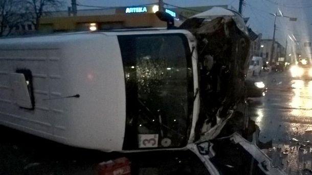 На месте аварии в Кременчуге