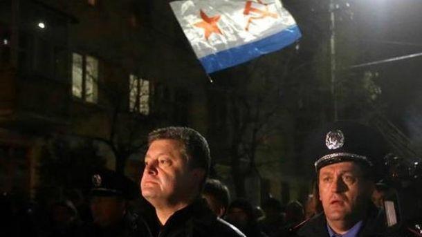 Петро Порошенко у Криму