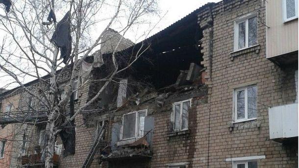 У Макіївці — вибух у будинку
