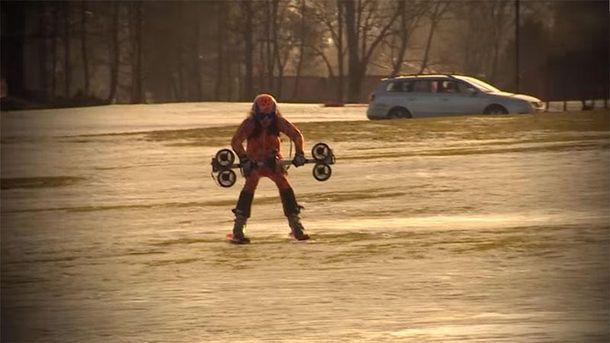 Лыжныйй рекорд