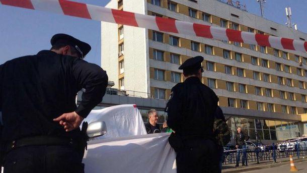 ВКиеве наавтостоянке убили директора одного изспортклубов