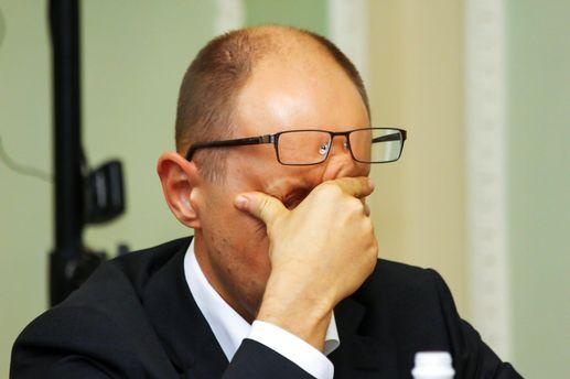 Яценюк сегодня подаст в отставку - источники «Главкома»