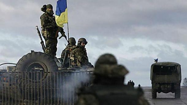 Путинские террористы попытались взять штурмом позиции сил АТО возле Докучаевска