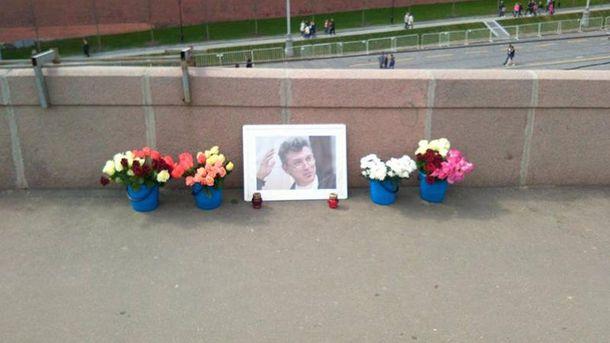 В столице России снова снесли мемориал Немцова