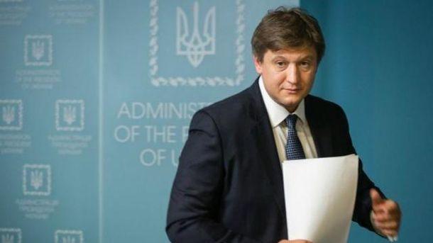 Проект постановления об увольнении скандального министра Данилюка уже в Раде