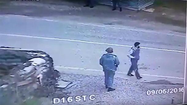 Террористы изГрозного опознаны. Появилось видео сместа взрыва