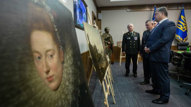 Коллекция картин, похищенных вВероне, отыскалась вгосударстве Украина