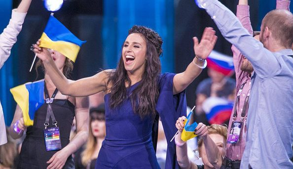 Джамала получила первую награду Евровидения залучшую строчку впесне