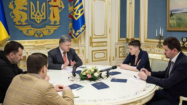 Савченко проведет встречи севропейскими лидерами