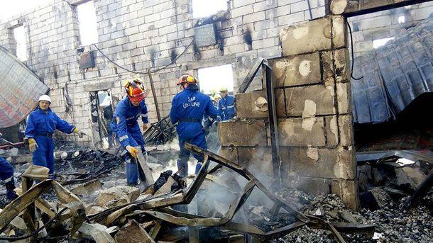 Внаслідок пожежі під Києвом загинуло 17 людей