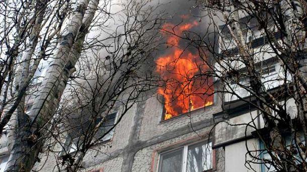 Гуртожиток загорівся у Харкові
