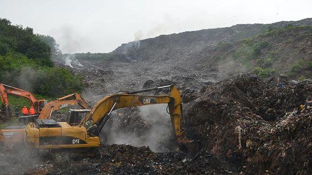 На Грибовицькому сміттєзвалищі очікують ще один серйозний зсув