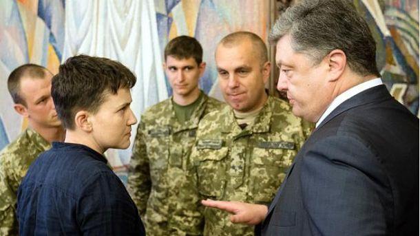Порошенко встретится сСавченко