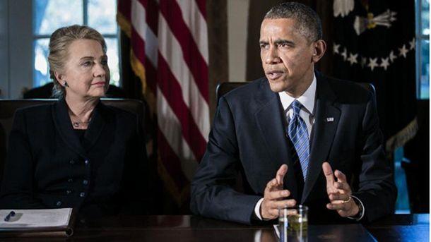Обама официально поддержал Клинтон навыборах впрезиденты США