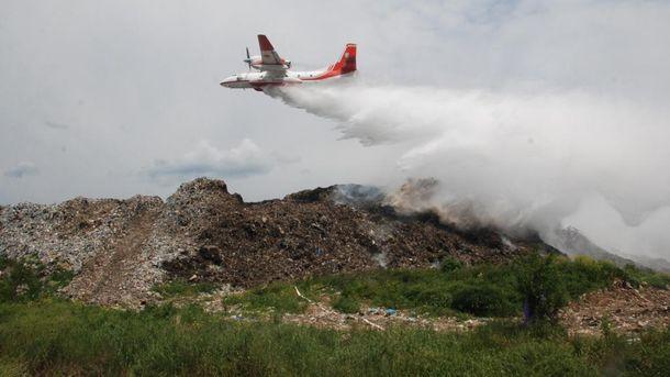 Причиною пожежі на сміттєзвалищі під Львовом був підпал, — Садовий