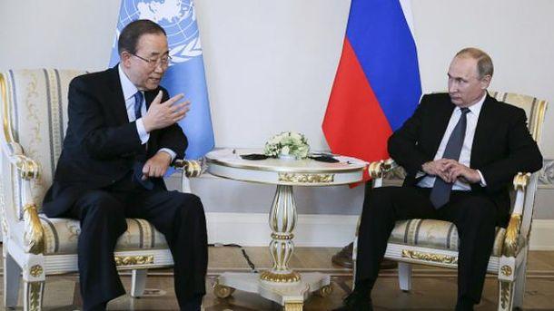 Генеральный секретарь ООН потерял моральное право говорить обУкраине— Ельченко
