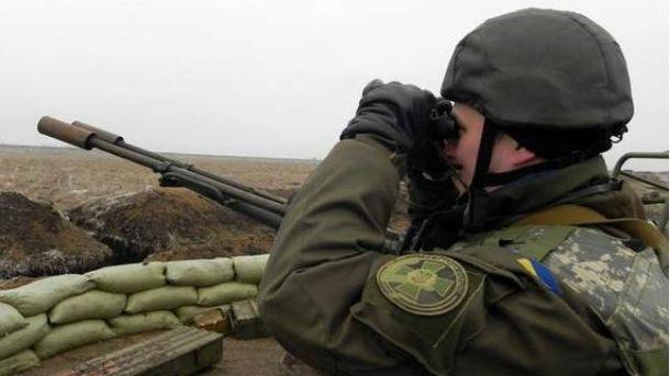 Боевики задень 63 раза обстреляли украинские позиции