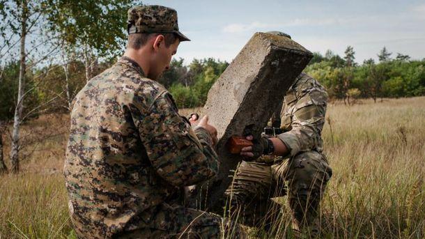 Штаб АТО: украинских военных обстреляли вТроицком иАвдеевке