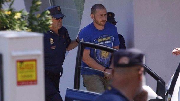 Испанская милиция обнародовала видео задержания сына Черновецкого
