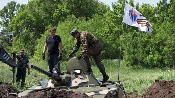 Силы АТО отразили атаки диверсантов около Новозвановки иМарьинки