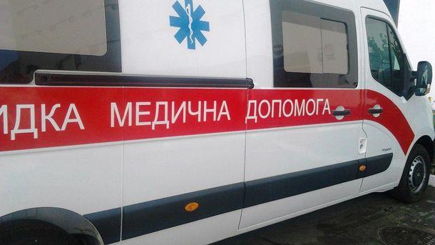 У Хмельницькому на 8-річну дитину впала бетонна плита