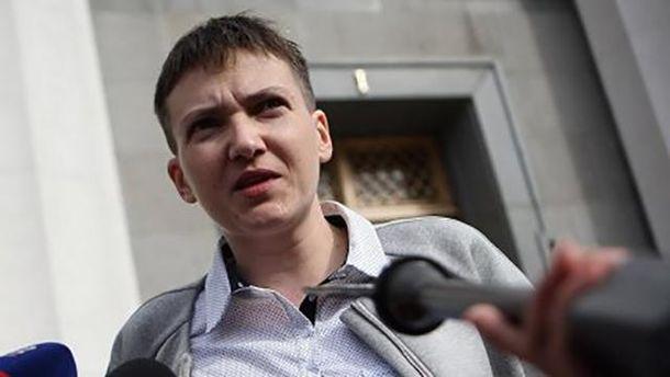 Савченко всю ночь дежурила под окнами администрации президента государства Украины