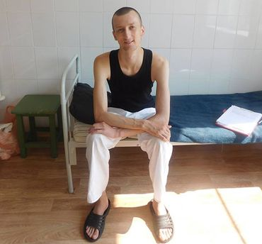 Кольченко попал в клинику из-за дефицита веса