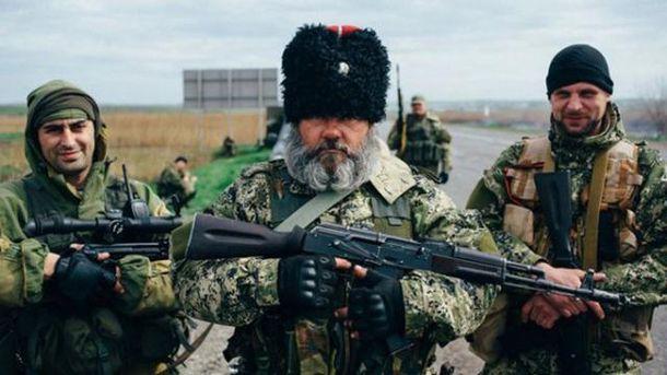 Российские наемники начали войну в Украине