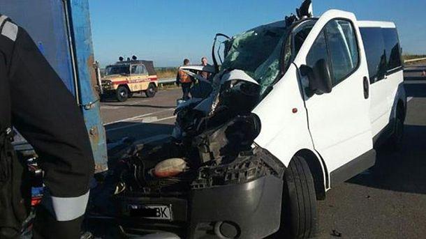 НаНиколаевщине встрашном ДТП погибли 8 человек. Появились фото