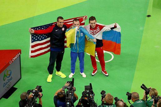 Украинские гимнасты остались без наград  вопорном прыжке