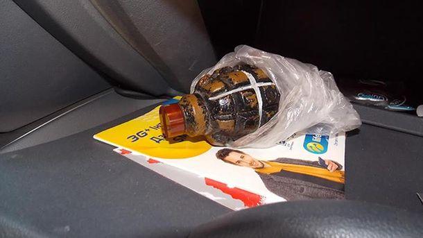 Таможенники обнаружили угражданина Германии гранату «Ф-1»