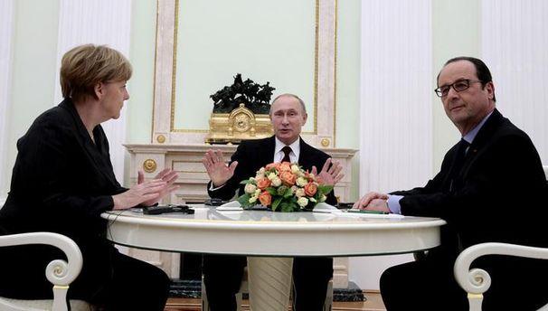 Путин, Меркель иОлланд договорились провести встречу насаммите G20