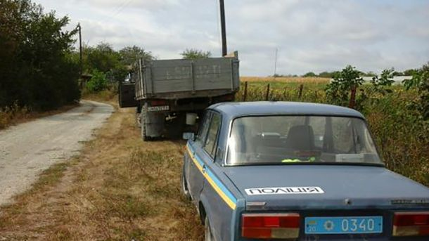 Расстрел полицейских вгосударстве Украина: появились фото сместа правонарушения