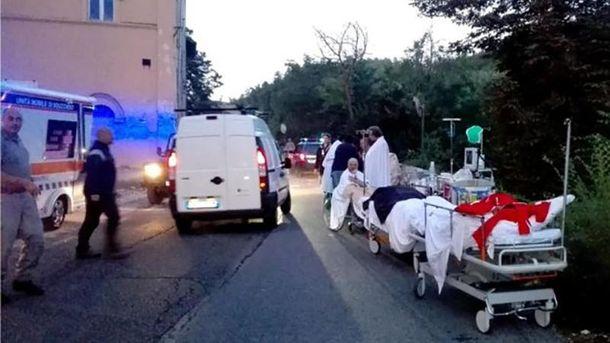 З'явилась інформація щодо перших жертв руйнівного землетрусу в Італії
