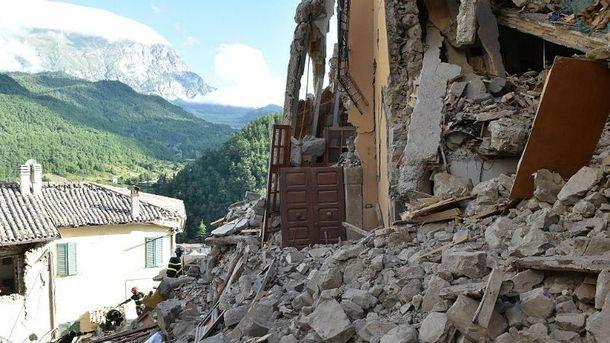 Землетрус в Італії: кількість загиблих зросла, зафіксовано новий поштовх
